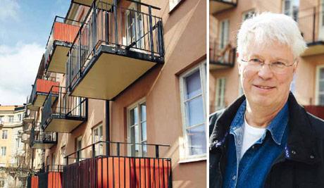 Ulf Andersson, ordförande i Brf. Egen Härd i Örebro.
